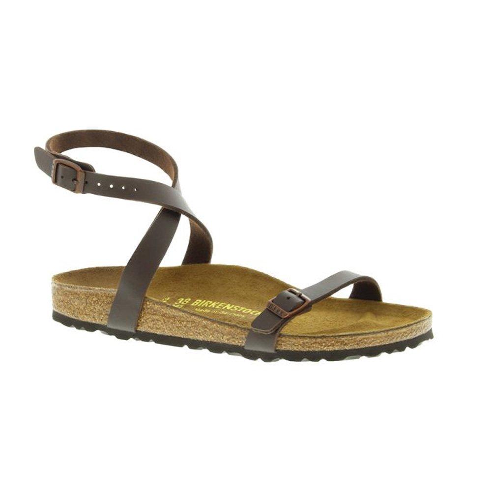 Birkenstock Women's Daloa Sandals B01J4DJATU 38 (US Women's 7-7.5) Narrow|Mocha Birkibuc