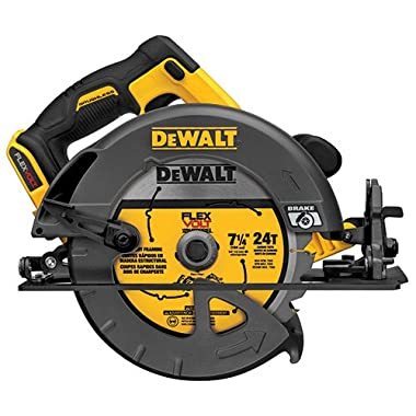 DEWALT DCS575B FLEXVOLT 60V MAX Lithium-Ion Brushless 7 1/4  Circular Saw (Bare Tool)