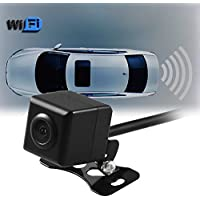 AGPtek New WIFI in Car Backup Rear View Reversing Camera 1/3 Cmos Cam For Andriod IOS Device