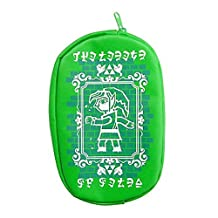 Legend of Zelda A Link Between Worlds Zipper Pouch Furyu - Green Pouch
