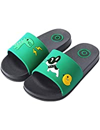 Kids Family Household Sandals Anti-Slip Indoor Outdoor Home Slippers for Girls and Boys