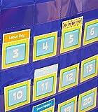 Carson-Dellosa CD-158156 Deluxe Calendar Pocket Chart