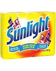 Sunlight Lemon Laundry Detergent Bar, 2x130 Grams