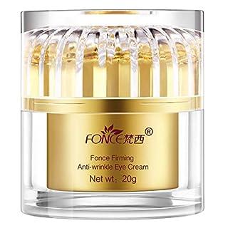 Fonce Retinol Moisturizer Gel for Eye Area,BEST Korean Eye Gel Anti-Wrinkle&Fine Line Anti-Aging Fade Wrinkles Plant Extract Tighten Skin Eye Gel for Men&Women