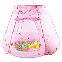 Chinatera Kids Baby Children Pop Up Pit Ball Play Tent Indoor Outdoor Tent Game House Toy House Kids Play Tent