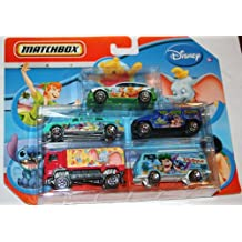 Matchbox Disney 5 Pack Diecast Cars - Little Einsteins