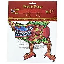 Beistle 55701 Asian Tissue Dragon, 6-Feet