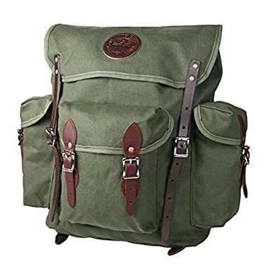 Duluth Pack Wanderer Pack, Olive Drab, 16 x 15 x 6-Inch
