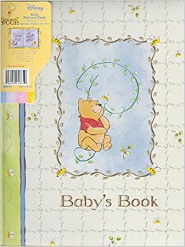 As you grow a modern memory book for baby