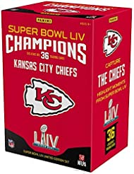 2019 Panini Instant Kansas City Chiefs Super Bowl LIV Champions Complete Trading Card Set (36 Cards) - Fanatics Authentic Certified