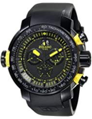 Zodiac ZMX Mens ZO8559 Special Ops Black Stainless Steel Watch