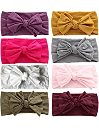 Baby Headbands Turban Knotted, Girl's Hairbands for...