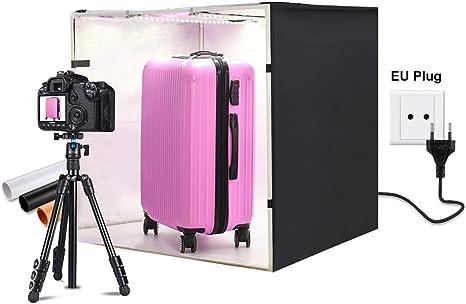 QKa Estudio fotográfico de 32 x 32 Pulgadas / 80 x 80 cm. Caja de ...