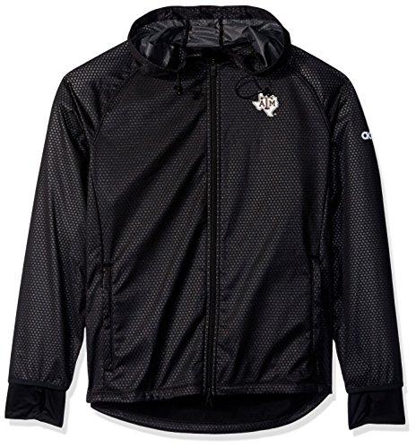 adidas NCAA Texas A&M Aggies Adult Women Team Logo Climastorm Full Zip Jacket, Large, Black ()