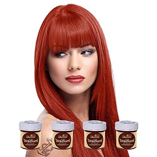 4 x La Riche Directions Semi-Perm Hair Colour Flame (ALL COLOURS Avail) 4x -