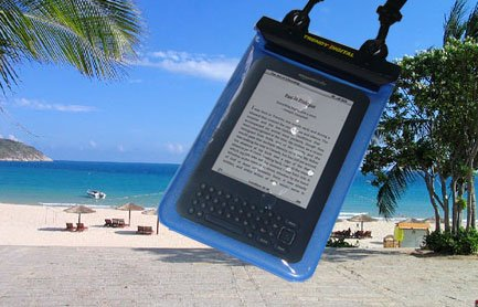 TrendyDigital WaterGuard Plus Waterproof Case with Padding for Kindle 3 (Third Generation Kindle, Kindle Wi-Fi, or Kindle 3G + Wi-Fi , 6