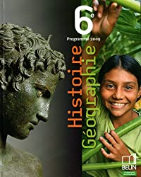 Histoire Géographie 6e : Programme 2009, petit format
