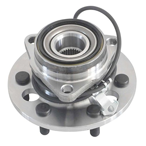 - DRIVESTAR 515024 New Front Wheel Hub & Bearing for GMC Cadillac Chevy 4WD 6 Lugs w/ABS