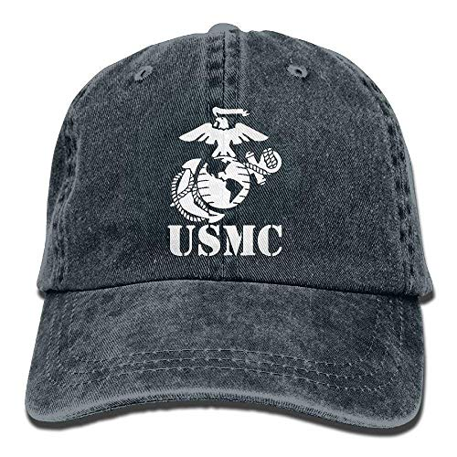 Jay.L.E Eagle Globe Anchor USMC Marine Corps Unisex Adult Adjustable Jeans Dad Hat