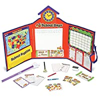 Conjunto de escuela de aprendizaje y juego de recursos de aprendizaje, 149 piezas