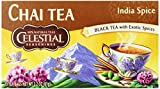 Celestial Seasonings Chai Tea, India Spice, 20 Count (Pack of 6)