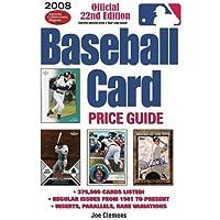 2008 Baseball Card Price Guide