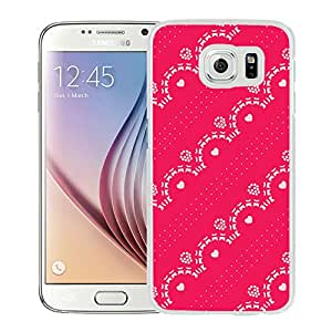 Raspberry Lace (2) Durable High Quality Samsung Galaxy S6 Case