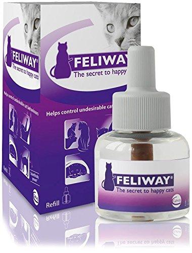 6 PACK Feliway Diffuser REFILL (288 mL) by Feliway