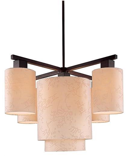 George kovacs p8085 615 kimono 5 light chandelier antique dorian george kovacs p8085 615 kimono 5 light chandelier antique dorian bronze mozeypictures Choice Image