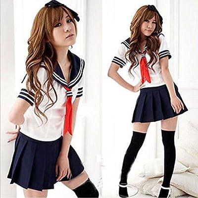 Leijing Cosplay - Disfraz Sexy de Anime para Niñas y Estudiantes ...