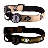 Dog-E-Glow University of Colorado Buffaloes Lighted LED Dog Collar, Large, 15-Inch by 21-Inch, My Pet Supplies
