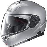 Nolan N-104 MCS Helmet (Platinum Silver, Medium)