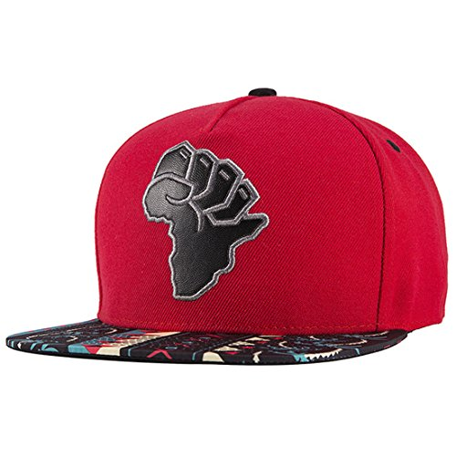 5d8a22b5d78 ChezAbbey Solid Flat Brim Hip Hop Adjustable Hat Stylish Snapback Baseball  Cap
