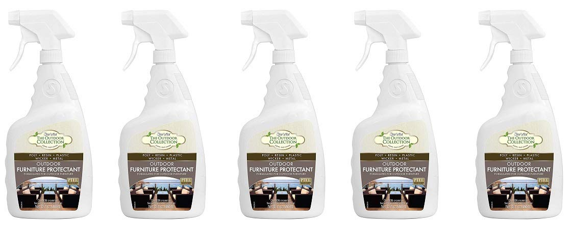 Star brite Patio & Outdoor Furniture Protectant 32 oz Spray - Renew & Restore Color, Prevent UV Fading & Cracking (59032) (5-(Pack))