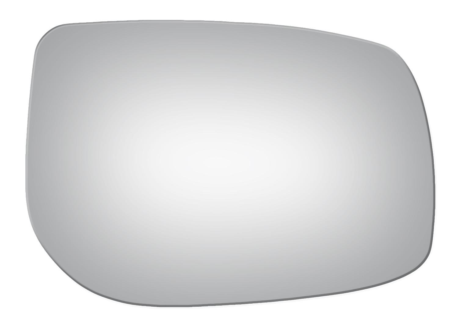 2006-2012 TOYOTA YARIS Burco 5225 Convex Passenger Side Replacement Mirror Glass for 2008-2014 SCION xD