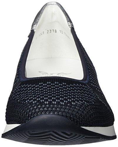 Grau para Bailarinas ara Mujer Silber Porto con EU Punta Cerrada Blau 05 q0wXHw5