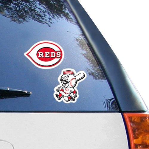 MLB Cincinnati Reds 2-Pack 4'' x 4''