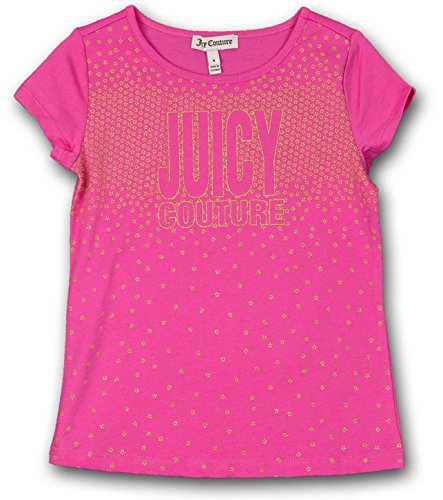 (Juicy Couture Kids Girl's Star Embellished T-Shirt 2T)