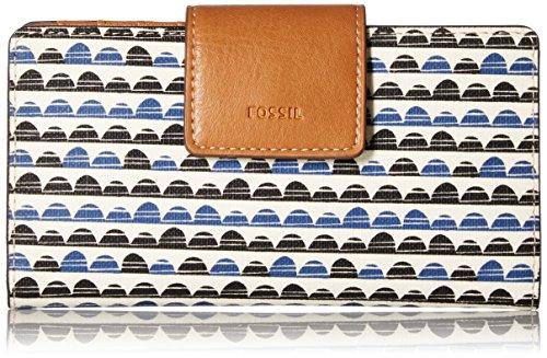 Emma Rfid Tab Wallet-blue Print Wallet, Blue Print, One Size