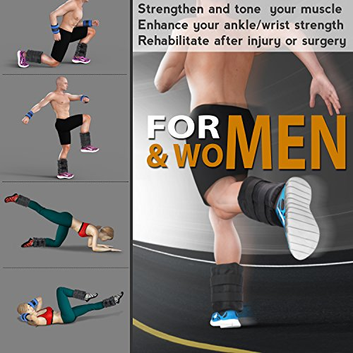 Free Weights Walmart: Yes4All Set Of 2 Ankle Weights/Wrist Weights With