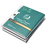 Natural Bamboo Charcoal Oil Absorbing Tissues - 100 Counts, Easy Take Out Design - Top Oil Blotting Paper, Premium Handy Face Blotting Sheets - Facial Skin Care or Make Up Must