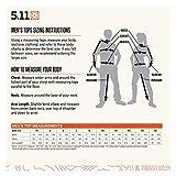 5.11 Tactical Job Shirt 1/4 Zip,Fire Navy,Large