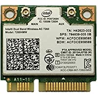 Intel Dual Band Wireless-AC 7260 867 Mbps+ Bluetooth 4.0 7260HMW Wireless WLAN Card