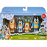 Bluey Family 4 Pack Figurines Preschool