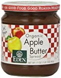 An Eden selected blend of organically grown apples, very slowly kettle cooked with a bit of our organic apple juice concentrate. A versatile tangy sweet spread that makes healthy eating an easy pleasure. Fat free and sodium free. k pareve par...
