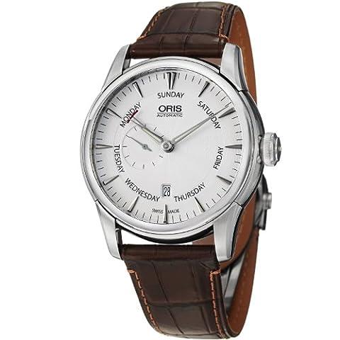 Oris Artelier Small Second Pointer Day Men's Automatic Watch 745-7666-4051-LS (Watch Automatic Oris)