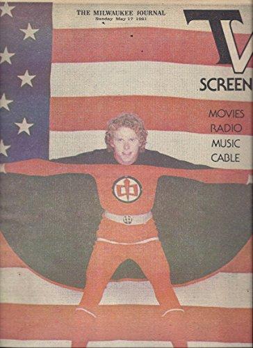TV Screen (Milwaukee Journal Sunday May 17, 1981 - Cover: William Katt From