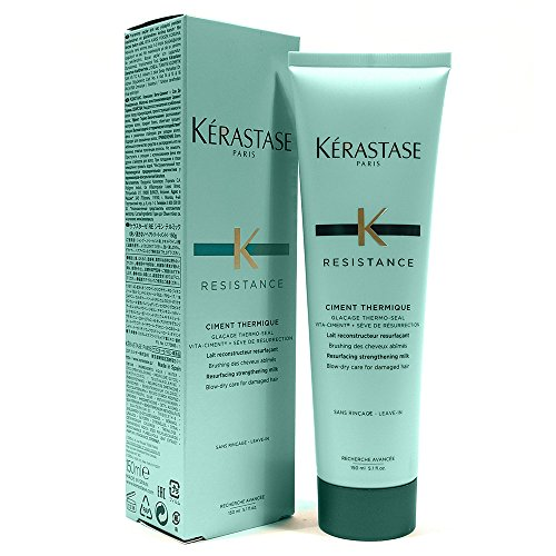 - Kerastase Resistance Ciment Thermique Resurfacing Strengthening Milk 5.1 ounces Pack of 2