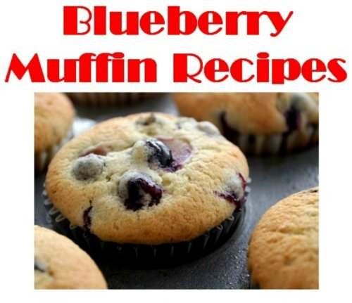 Blueberry Muffin Recipes: Easy Homemade Blueberry Muffin Recipes (Recipe Muffins Blueberry)