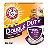ARM & HAMMER Double Duty Cat Litter, Advanced Dual Odour Control, 6.4-kg